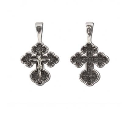 12-318 Крест (Ag 925)