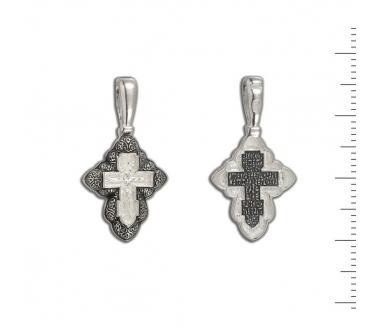 12-008 Крест (Ag 925)