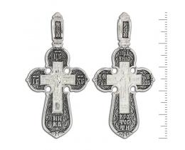 12-025 Крест (Ag 925)