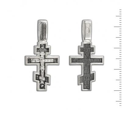 12-095 Крест (Ag 925)